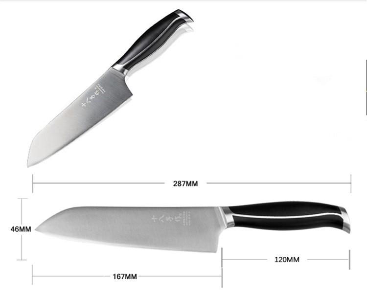 Անվճար առաքում Shibazi 5Cr15Mov Խոհանոցի - Խոհանոց, ճաշարան եւ բար - Լուսանկար 4