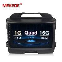 New arrival! MEKEDE Android 8.1 Car radio tape recorder player for KIA Sporta ge 2014 2011 2012 2013 2015 Gps wifi usb BT wifi