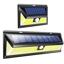 New 80/180 COB LED Solar Light PIR Motion Sensor Solar Powered Lamp Waterproof Garden Decoration Street Path Way Wall Light