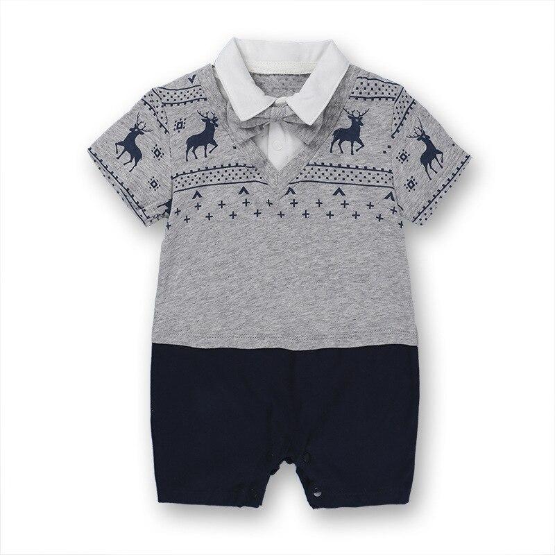 Noworodek Ubrania dla dzieci Garnitur Letnie Wspinaczka Odzież - Odzież dla niemowląt - Zdjęcie 2