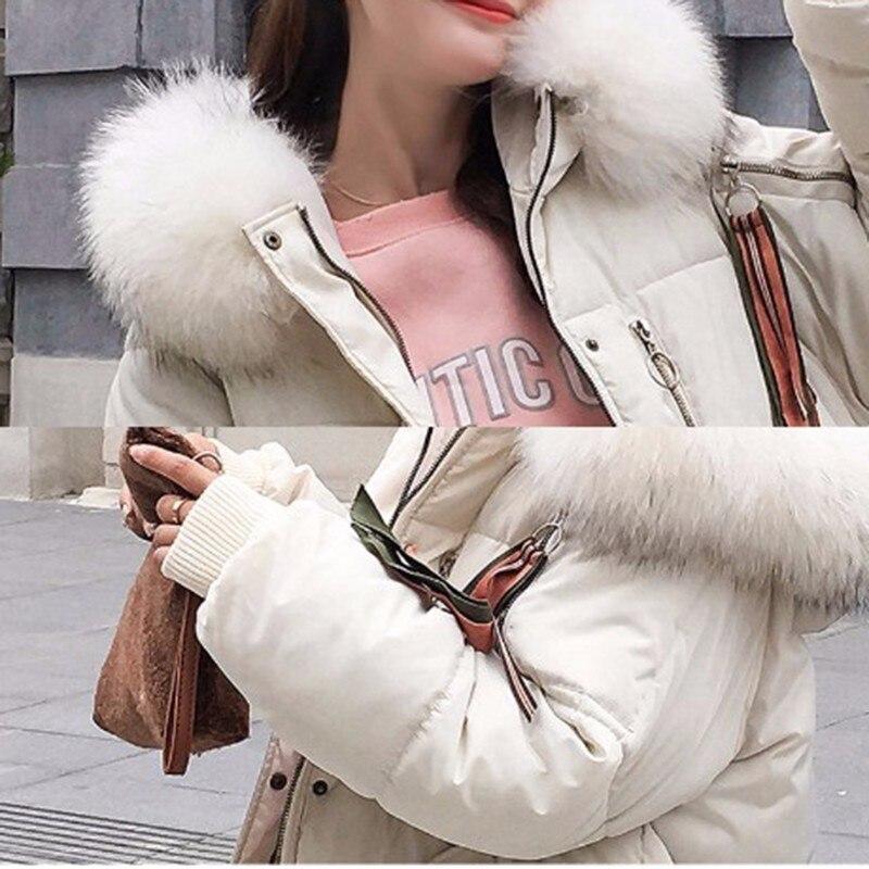 De Étanche Femmes Fourrure Mode D'hiver Plus Capuchon Casual Épaississent Black Chaud Vêtements Taille La rembourré Pw41 white Veste Coton gray red À Parka Rembourré Manteau Nouvelle dHXxfwx