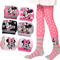 Toddler Kids Girl Pantyhose Tights Winter Children Girls Pantyhose Mouse Cartoon Soft Kids Autumn Winter Tights Ballet 70D0680