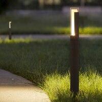 DONWEI Outdoor Led garden lawn Lights Modern Aluminum Led Lawn Lamps 10W LED Landscape light for Garden Yard AC85 265V