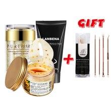 Buy 3 Get 1 Gift anti wrinkle sleep facial mask cne treatment whitenin