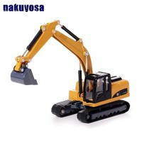 high simulation alloy engineering vehicle model, 1: 50 alloy excavator toys, metal castings, toy vehicles collection model