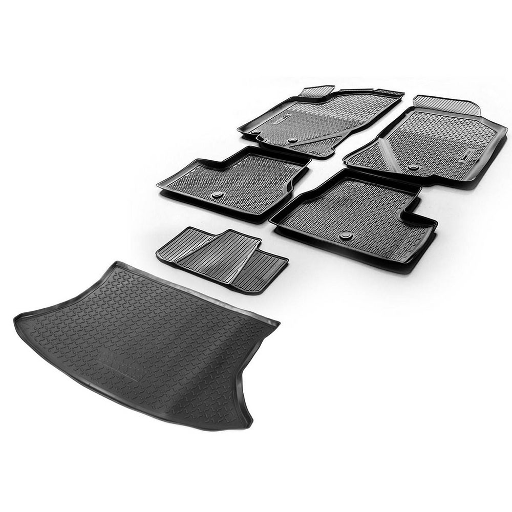 Фото - Mats interior Rival for Datsun Mi-DO hatchback 2015-n. a. /on-DO sedan 2014-n. a... polyurethane, with mounting hardware, jumper, 5 PCs 1870 50 pcs mur460 do 201ad