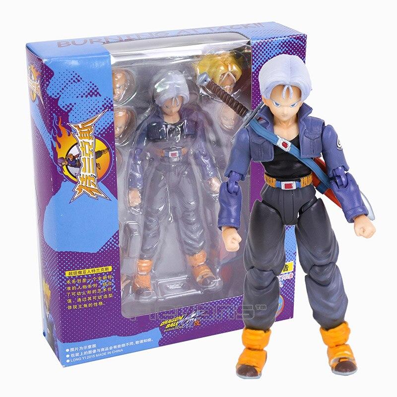 Anime Dragon Ball KAI Trunks PVC Action Figure Collectible Model Toy
