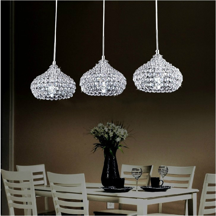 LED 3W Minimalist Modern K9 Crystal  Chandelier With 1 Light;D200mmLED 3W Minimalist Modern K9 Crystal  Chandelier With 1 Light;D200mm