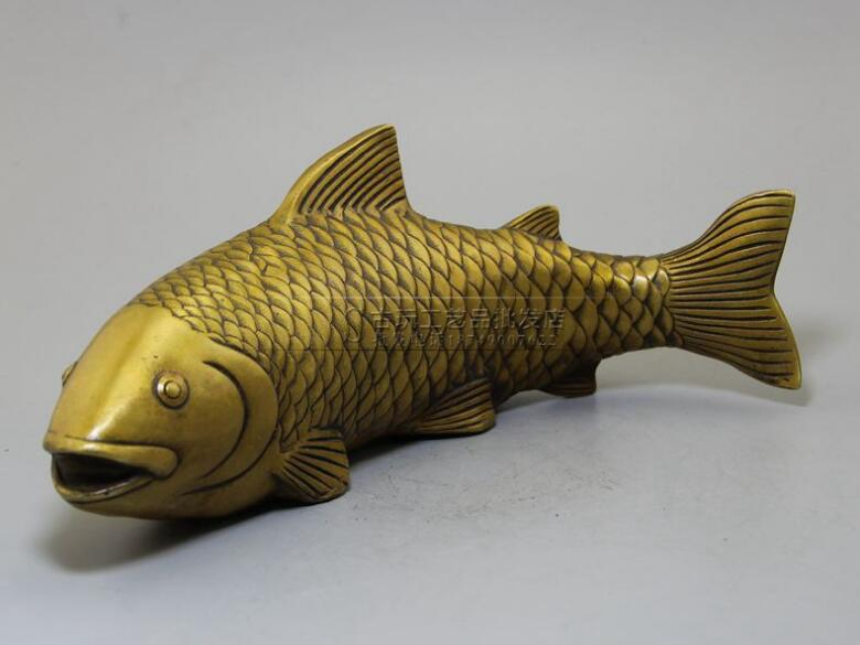 Collection of large carp pure copper sculptures,lucrative fish, high-end metal arts and crafts for free shipping   Collection of large carp pure copper sculptures,lucrative fish, high-end metal arts and crafts for free shipping