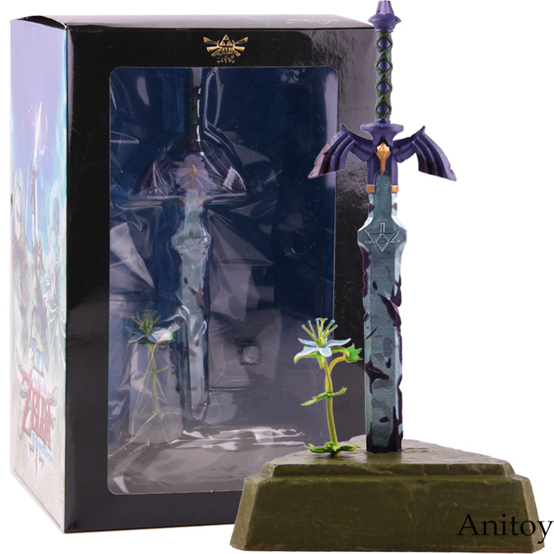Breath Of The Wild Master Sword Skyward Sword PVC Action Figure Collectible Model Toy