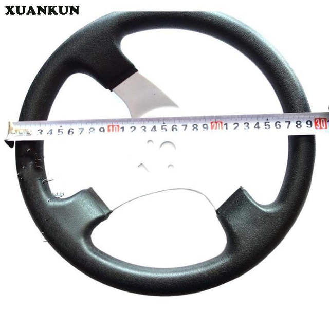 US $37 05 5% OFF|XUANKUN Four Karting Modified Accessories Kart Steering  Wheel 300MM Homemade Car Steering Wheel-in Covers & Ornamental Mouldings  from