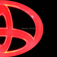 7 Sizes Car Led Light Red Blue White For Toyota Rav4 Prius Corolla Highlander Fortuner Avensis