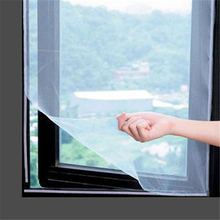 10Sets 1.3m 2m Insect Screen Window Netting Kit Fly Bug Wasp Mosquito Curtain Mesh Net Cover &Tape