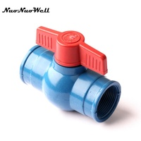 1pcs NuoNuoWell 2 N80 Female Connector Valve Drip Tape For Garden Greenhouse Micro Drip Irrigation Hose
