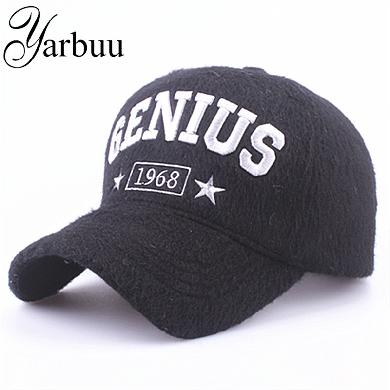 [YARBUU] Baseball Caps 2017 new fashion winter hat cap for men and women cashmere hats Thickened warm snapback cap free shipping the private worlds of dying children