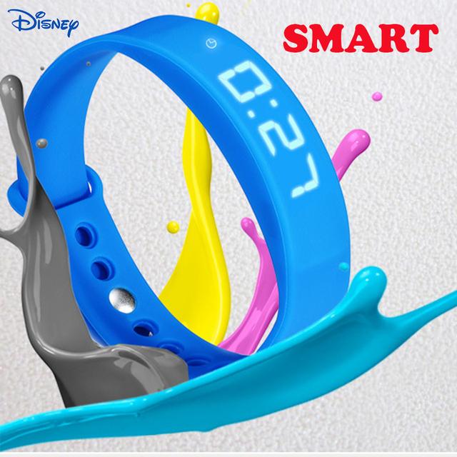 Disney smart watch band muñequera pasómetro pista principal de salud calorie ritmo motion temperatura deporte pulsera smartwatch