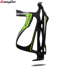 EasyDo Bike Cycling Bottle Cage Aluminum Holder MTB Road Bicycle Water Bottle Rack Holder Mount for Mountain Folding Bike Cage bicycle mini pump bracket co2 cartridge holder 9 7g for road bike water bottle cage mount bicycle part ultralight 2colors