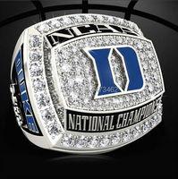 Free Shipping 2015 Duke Blue Devils National Championship Ring 2015 Popular Fashion Sports Fans Wholesale Wedding