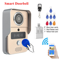 KINCO Audio Video WIFI Doorbell Safe Smart Home Connect Network Wifi Remote Control P2P Tamper Alarm Night View for Smartphone