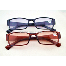 New Colored Lens  Vision Bifocal Reading Glasses ,Vintage Clear Reader, 20pcs/lot, Free Shipping