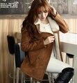 Winter Jacket Women Parkas Thicken Coat Women Jackets Leather Suede Fabric Lamb Wool Wadded Outwear Coats H5505