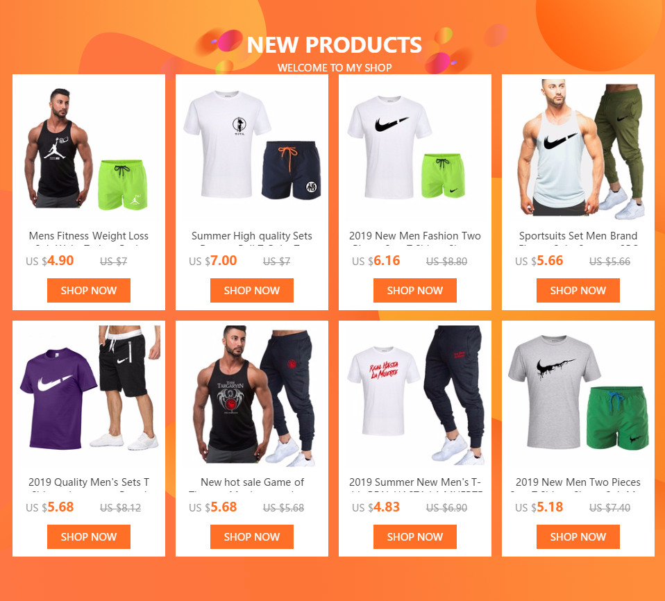 HTB12lLFdf1H3KVjSZFH762KppXaP 2019 New Men Fashion Two Pieces Sets T Shirts+Shorts Suit Men Summer Tops Tees Fashion Tshirt High Quality men clothing
