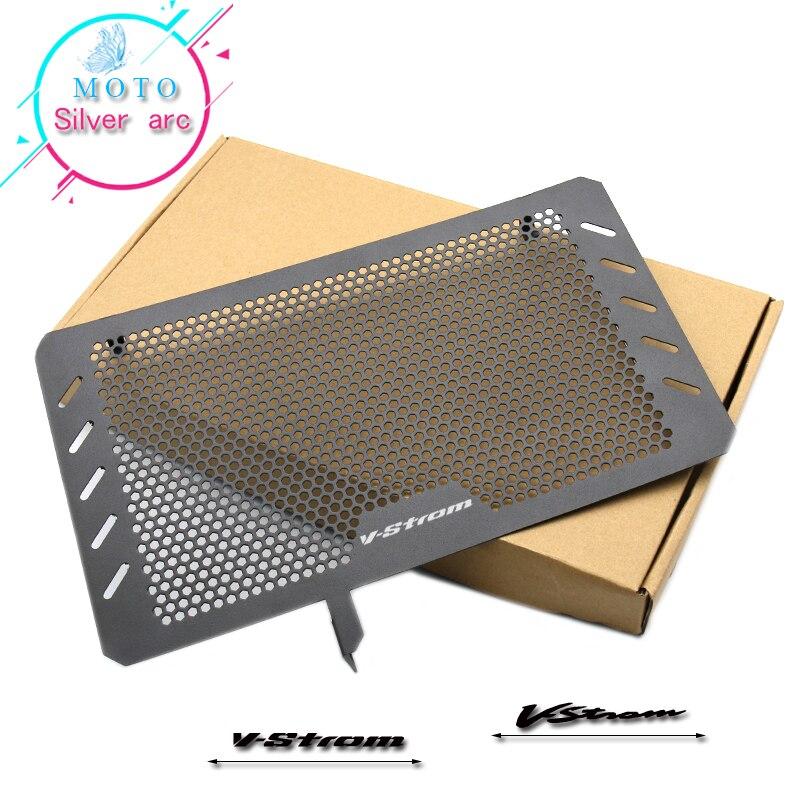 Pour SUZUKI V-STROM VSTROM DL650 DL 650 moto radiateur housse de protection gardes radiateur Grille couvercle protecteur