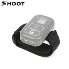 SHOOT WiFi Remote Hand Wrist Strap for GoPro Hero 8 7 6 5 Black Hero8 Hero7 Hero5 Action Camera WiFi Remoter Control Accessory