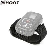SHOOT WiFi remoto correa para mano y muñeca para GoPro Hero 8 7 6 5 negro Hero8 Hero7 Hero5 Cámara de Acción WiFi Remoter Control accesorio