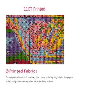Image 3 - Tela de algodón DMC14CT11CT para costura, kits de punto de cruz diy en el bosque, para oficina, hotel, fábrica de cuadros, venta al por mayor