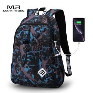 Image 1 - Mark Ryden Backpack Student Water Repellen Nylon Backpack Men Material Escolar Mochila Quality Brand Laptop Bag School Backpack