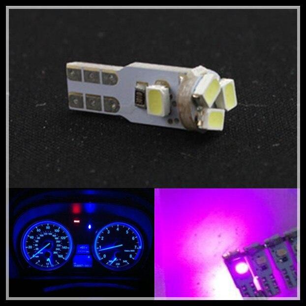 FSYLX T5 5 SMD 3020 LED instrument Light Bulb white blue T5 73 74 LED Dashboard Dash light bulb T5 LED Instrument Panel lamps