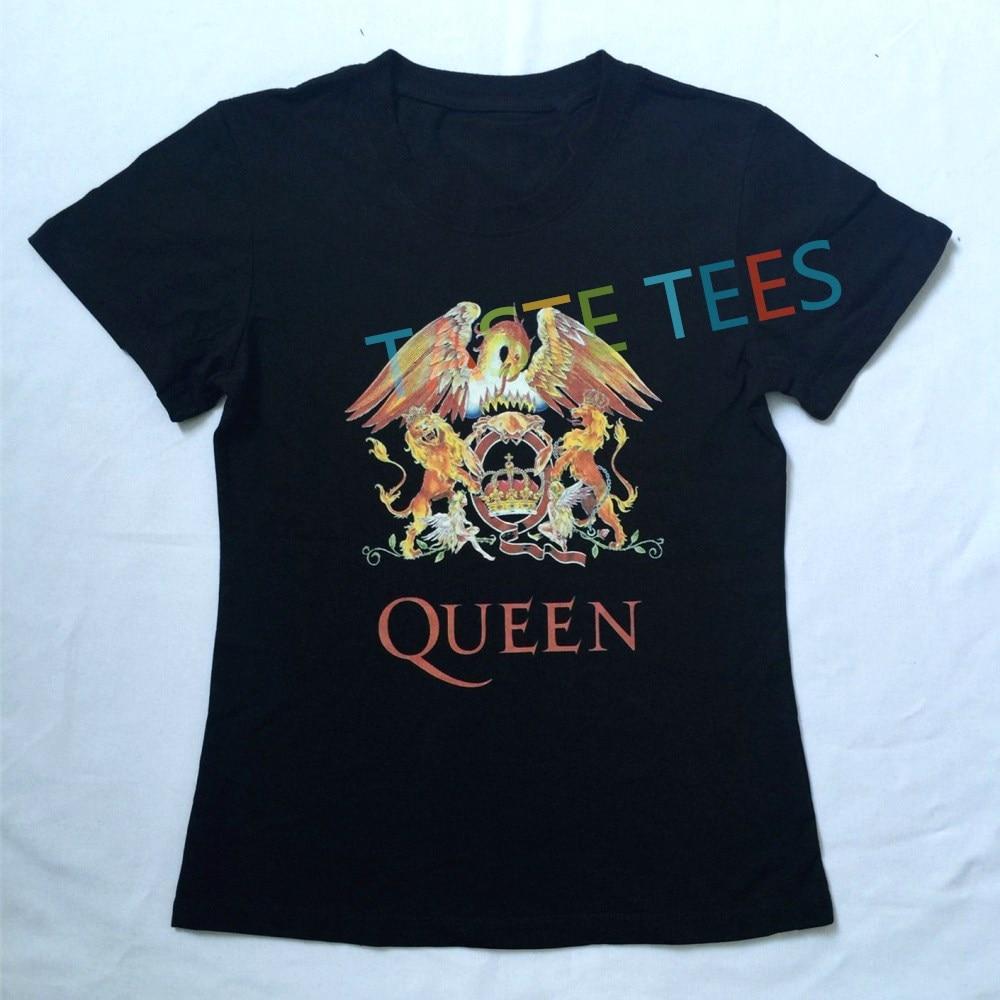 4efb5cd96 Fashion Punk Band QUEEN T Shirt Women Singer Freddie Rock Stars Printing O  Neck T shirt Tops Hip Hop Brand Short Sleeve Shirts-in T-Shirts from Women's  ...