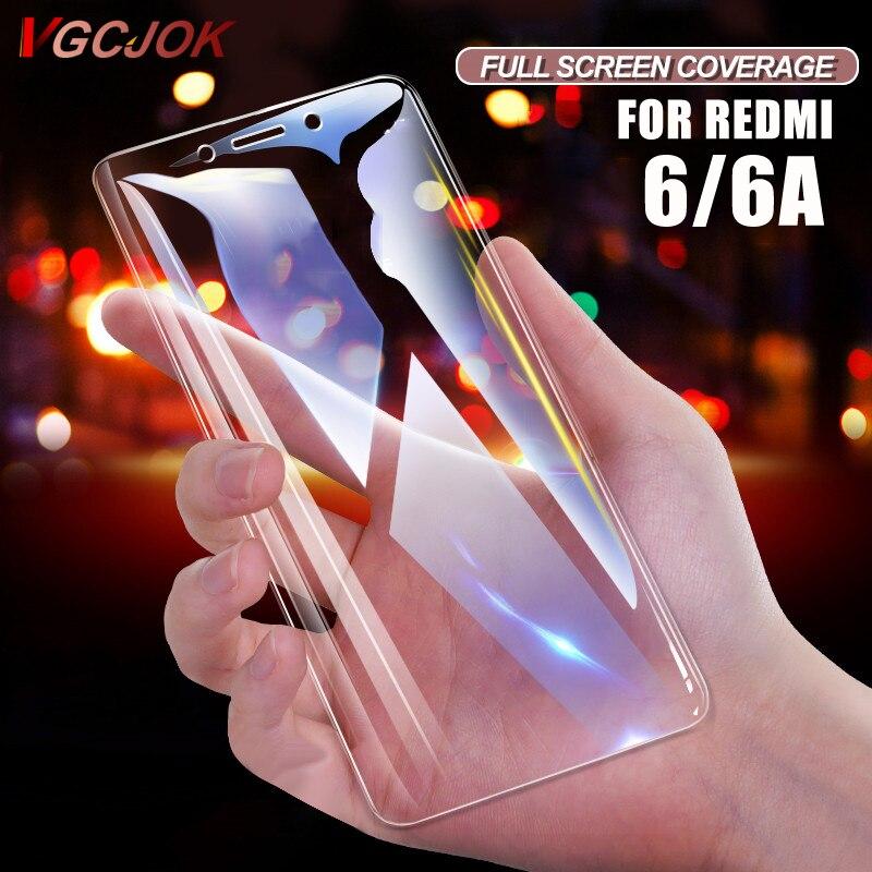 Pour Xiaomi Redmi 6 6A Version globale 9 H 2.5D HD verre trempé protecteur d'écran pour Xiaomi Redmi 6/6A Redmi6 A verre de protection