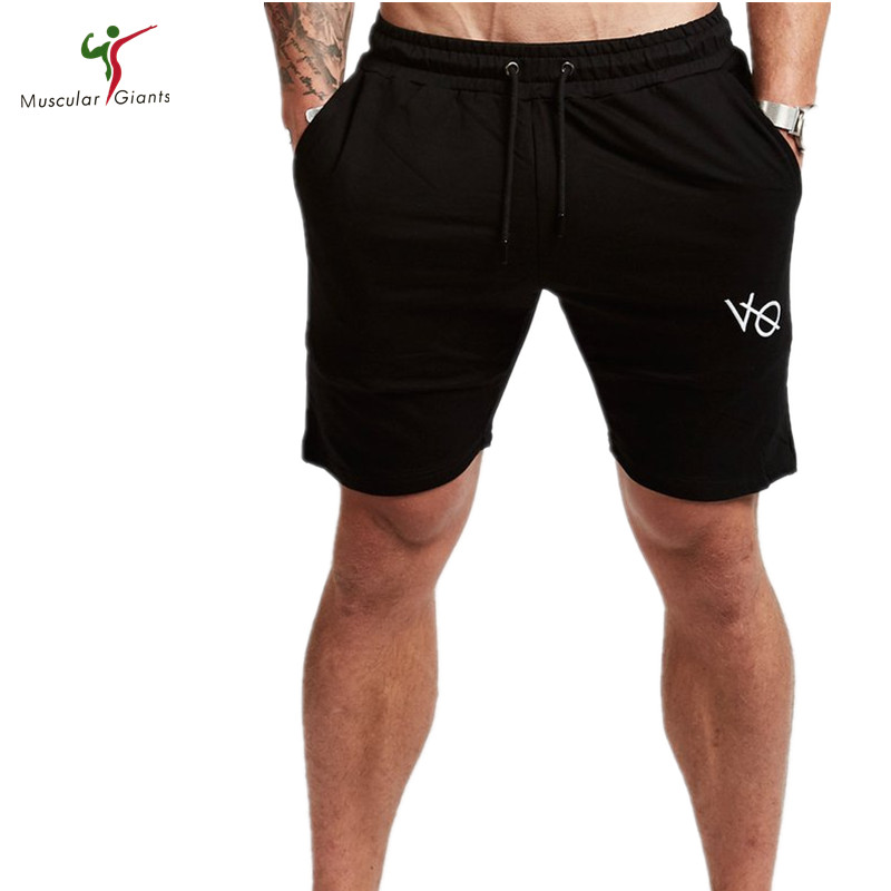 Muscular giants 2018 Quality Men Golds Brand Fitness Shorts Mens Professional Bodybuildi ...