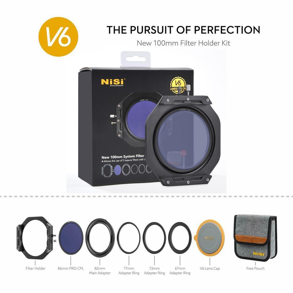 NiSi V6 Filter Holder Lens Cap