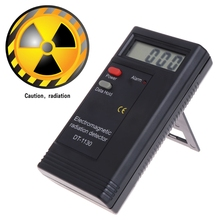 1 Pc Electromagnetic Radiation Detector LCD Digital EMF Meter Dosimeter Tester DT1130 цена в Москве и Питере