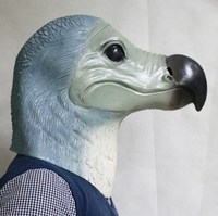 2014 Brazil World Cup Cosplay Costume Latex Dodo Mask For Carnival