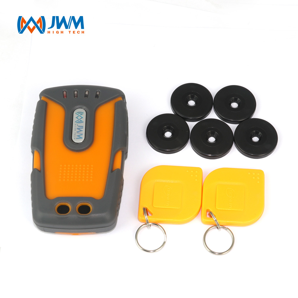 JWM Electronic Security Guard GPRS Guard Tour System With Free Cloud Software