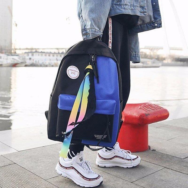Women Backpack Female Schoolbag Travel Bag Fashion School Backpack For Girls Luxury Brand Bag Mochila Feminina Dalfr #6