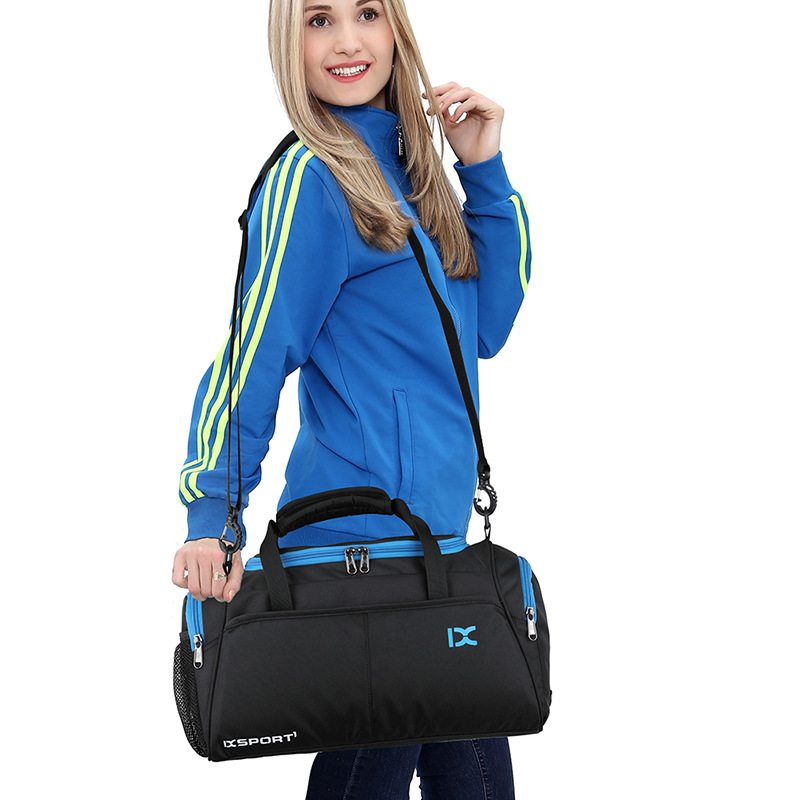 New Fashion Double Waterproof Sports Gym Bag Large Capacity Travel Bag Portable Sports Bag