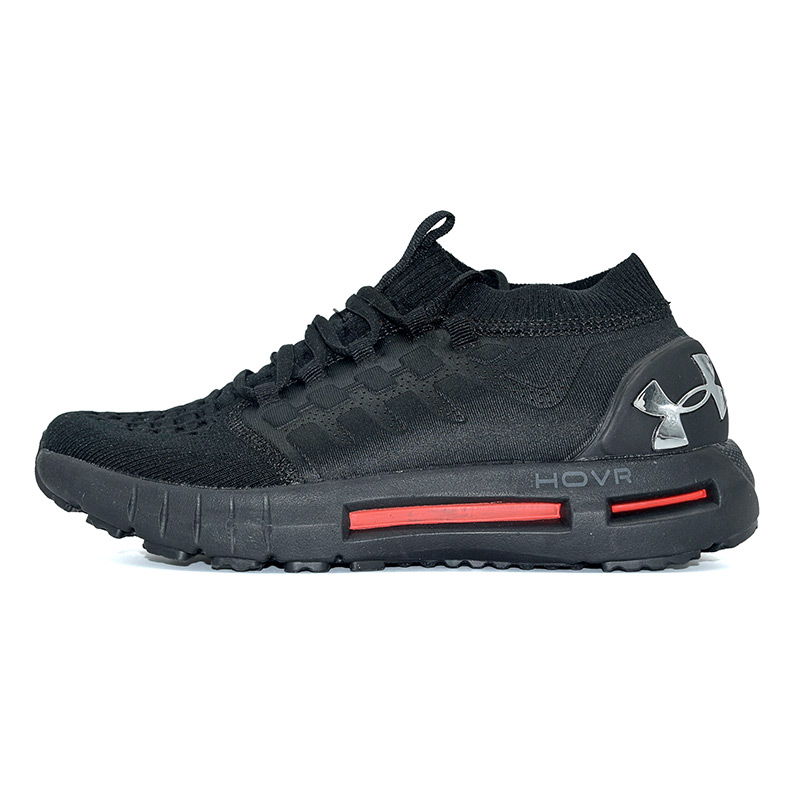 New Arrival Under Armour HOVR Black Red Men Outdoor Shoes Breathable High Quality Male Sneakers Endurable Sole Size 40 45