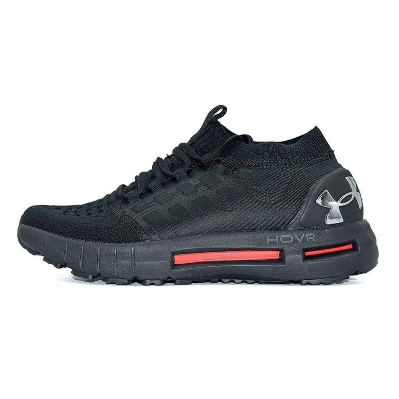 Nouveauté Under Armour HOVR noir rouge hommes chaussures de plein air respirant de haute qualité homme baskets Endurable unique taille 40-45