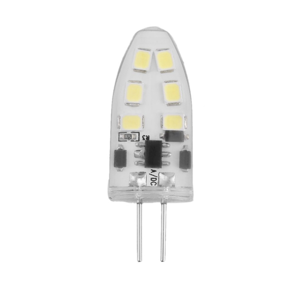ICOCO G4 Mini Dimmable LED Lamp with 12 LEDs COB 9W SMD 2835 AC/DC 12V Light 360 Beam Angle Chandelier Replace Halogen Lamps