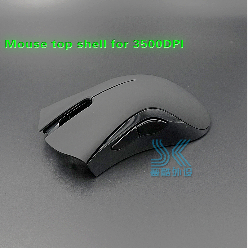 New Mouse Shell For Razer Deathadder 2013 Chroma 3500DPI Top Upper Cover Mouse Case Roller Wheel Accessories