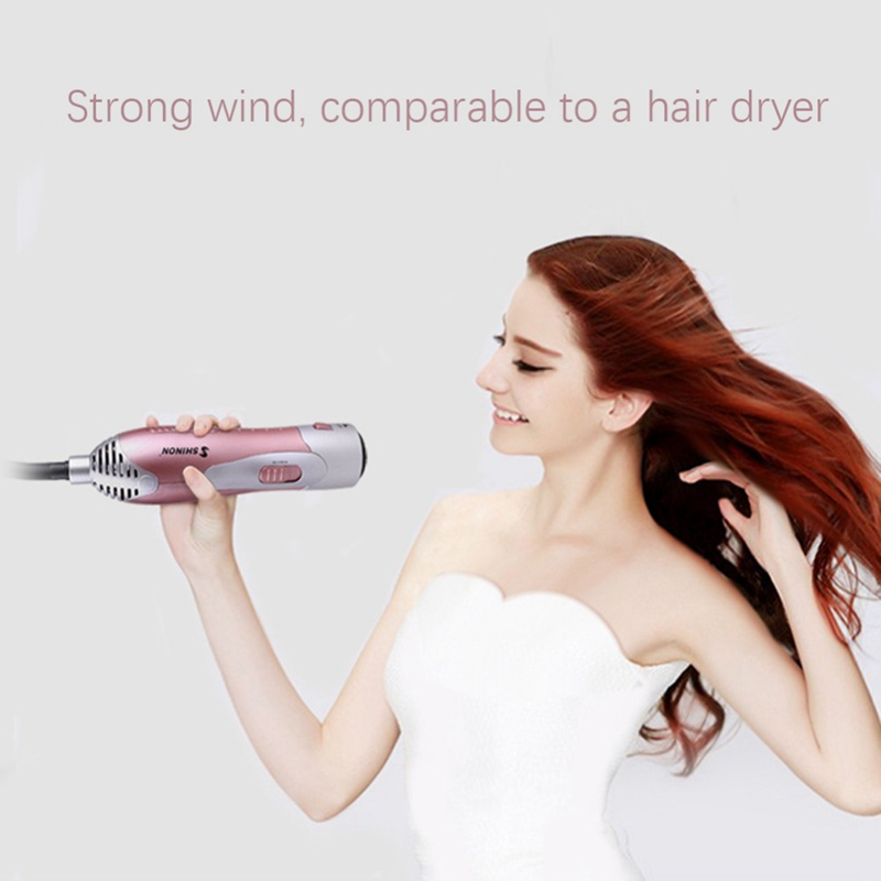 HOT Shinon 3 In 1 Professional Curling Iron Hair Straightener Hair Dryer Brush Roller Comb Hairdressing Styling Tool For Home in Curling Irons from Home Appliances