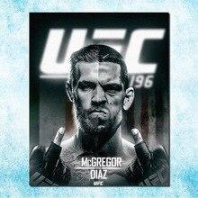 Conor McGregor MMA UFC Fight Boxing Champion Art Silk Canvas Poster 13x16 inch Picture For Room Decor (more)-10