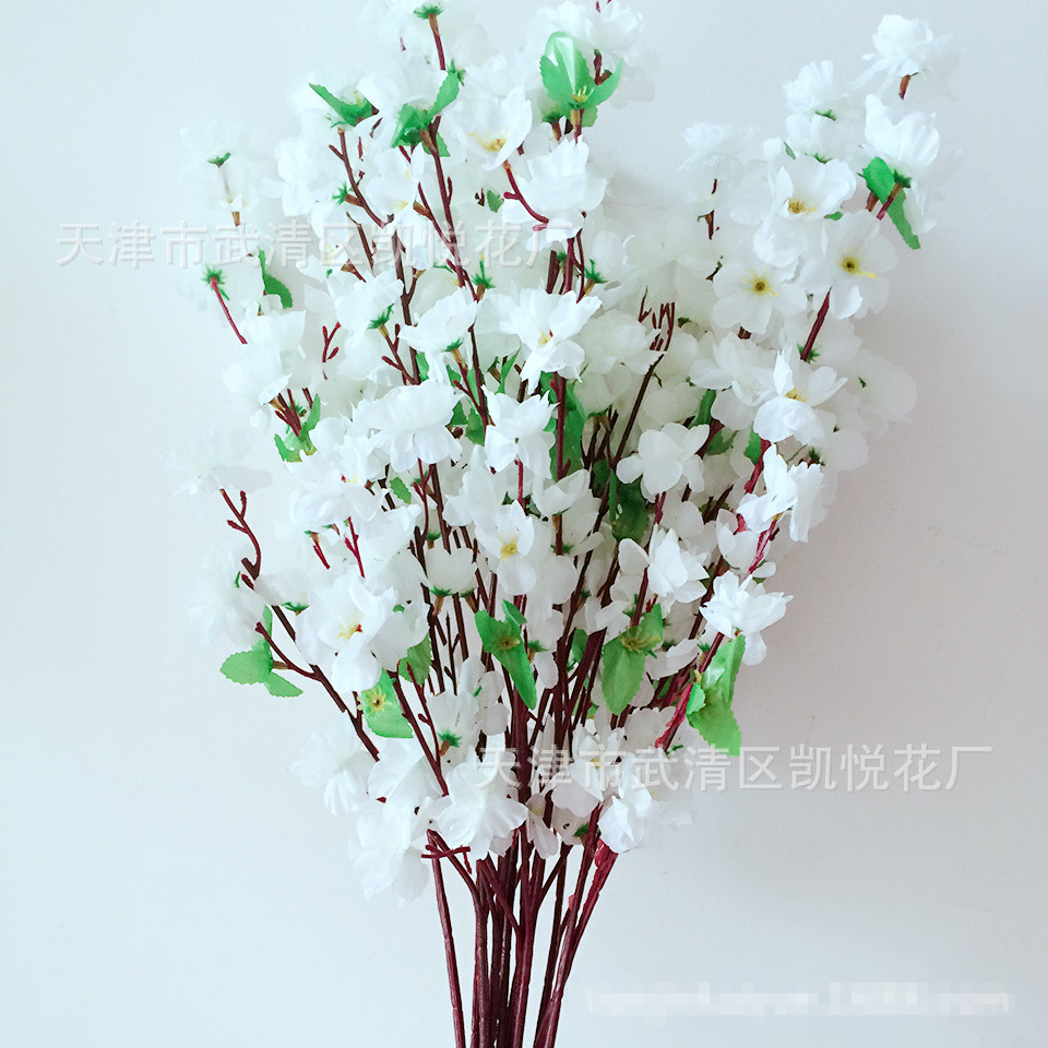 Vases Artificial Flowers Romantic Artificial Branches Of Peach
