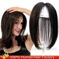 """2.7 ''x 3.9"""" моно ПУ волос парик тонкая кожа реальные Человеческие Волосы Топпер Длинные Парики Верхняя Часть Для Женщин 12 """"прямой замены волос"""
