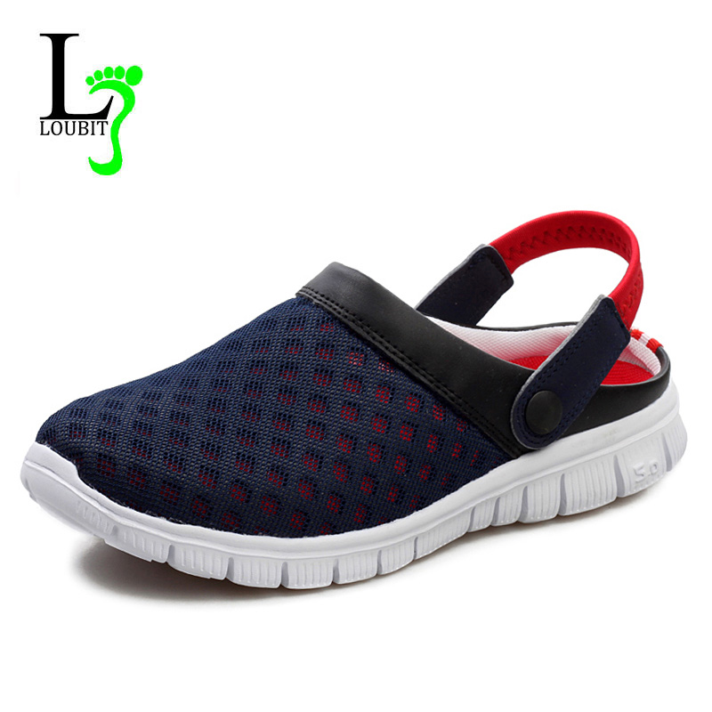 Men Shoes 2019 Summer Breathable Men Sneakers Mesh Lightweight Casual Shoes Fashion Slip On Sneakers Сникеры